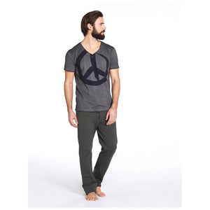 "Yoga pant ""Oscar"", aloe - Perfect yoga pants for men - Kamah Yoga and Style"
