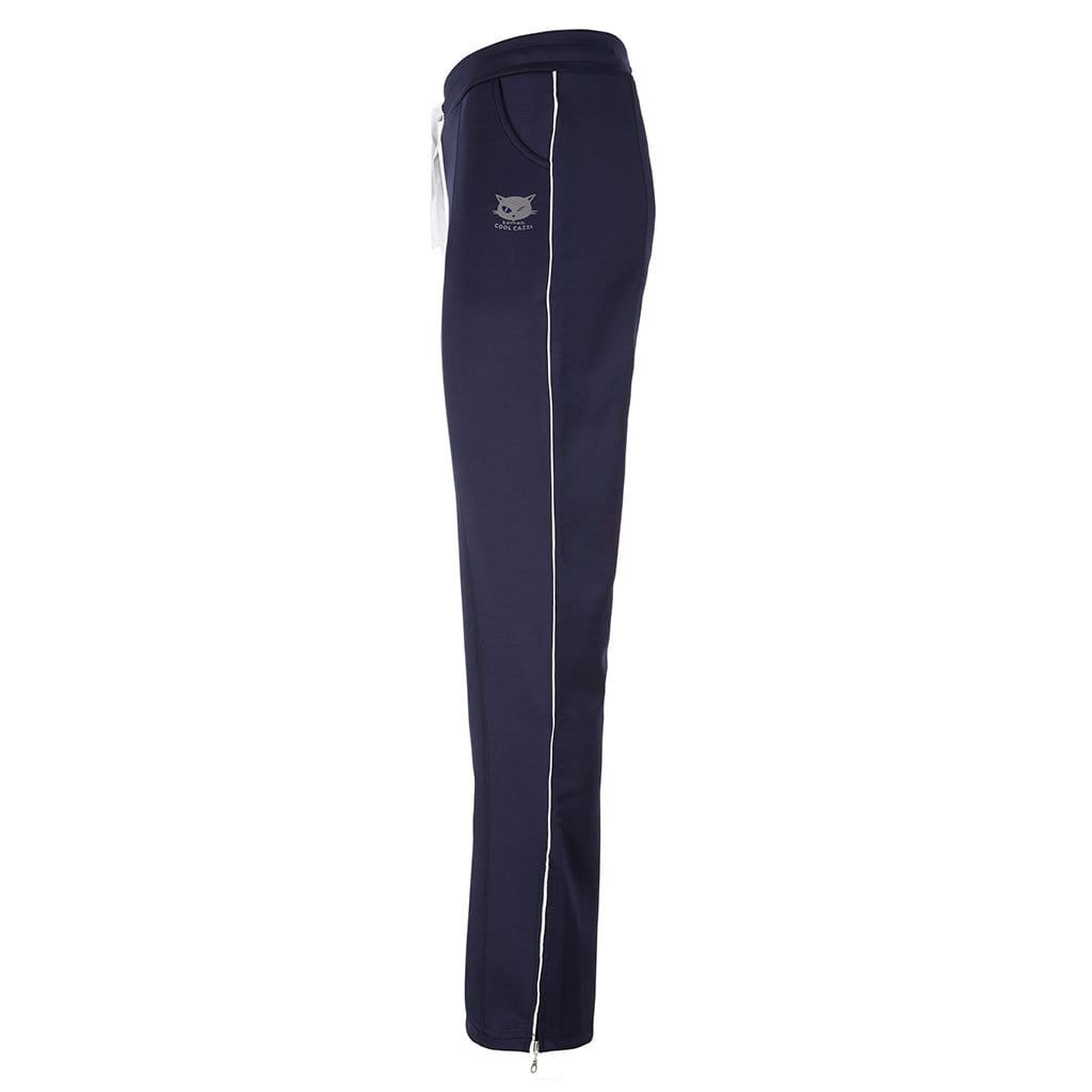 "Yogakleidung - 100% BIO - Yoga-Pant ""Sarah"", nightblue - Stylische Trainingshose"