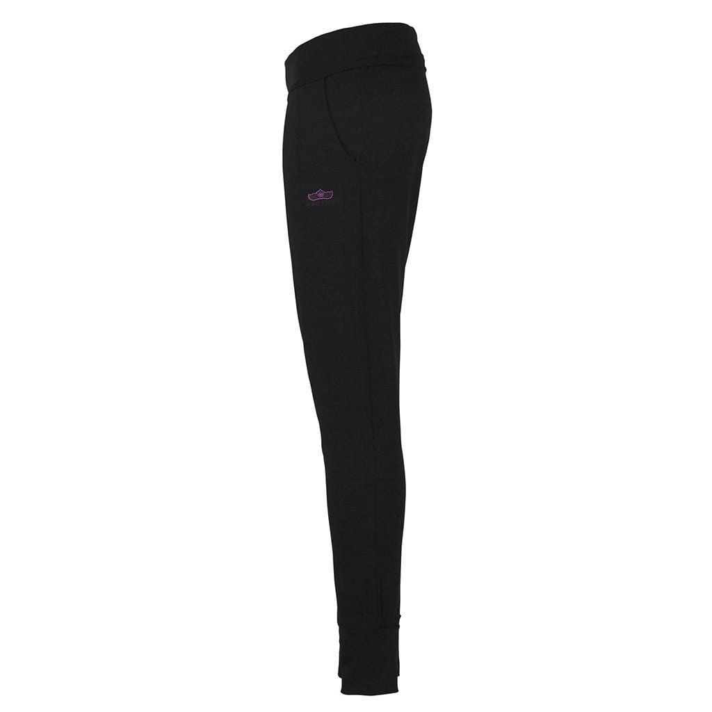 "Yoga pant ""Charlot"", charcoal - super comfortable yoga pants with a perfect fit - Kamah Yoga and Style"