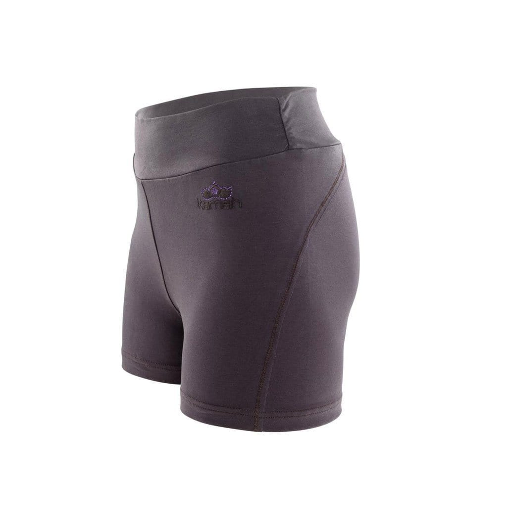 "Yogahose Damen - Shorts ""Bindu"", chocolate - Perfekte kurze Pant - Kamah Yoga and Style"