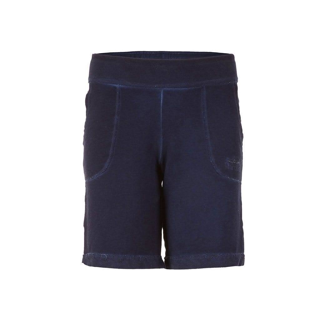 "Yoga-Shorts ""Permila"", nightblue - Kurze Yogahose aus Bio Baumwolle - Kamah Yoga and Style"
