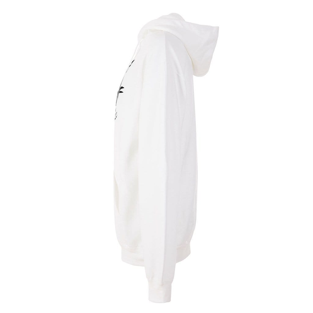 THOR - Hoodie, white/black - Kamah Yoga and Style