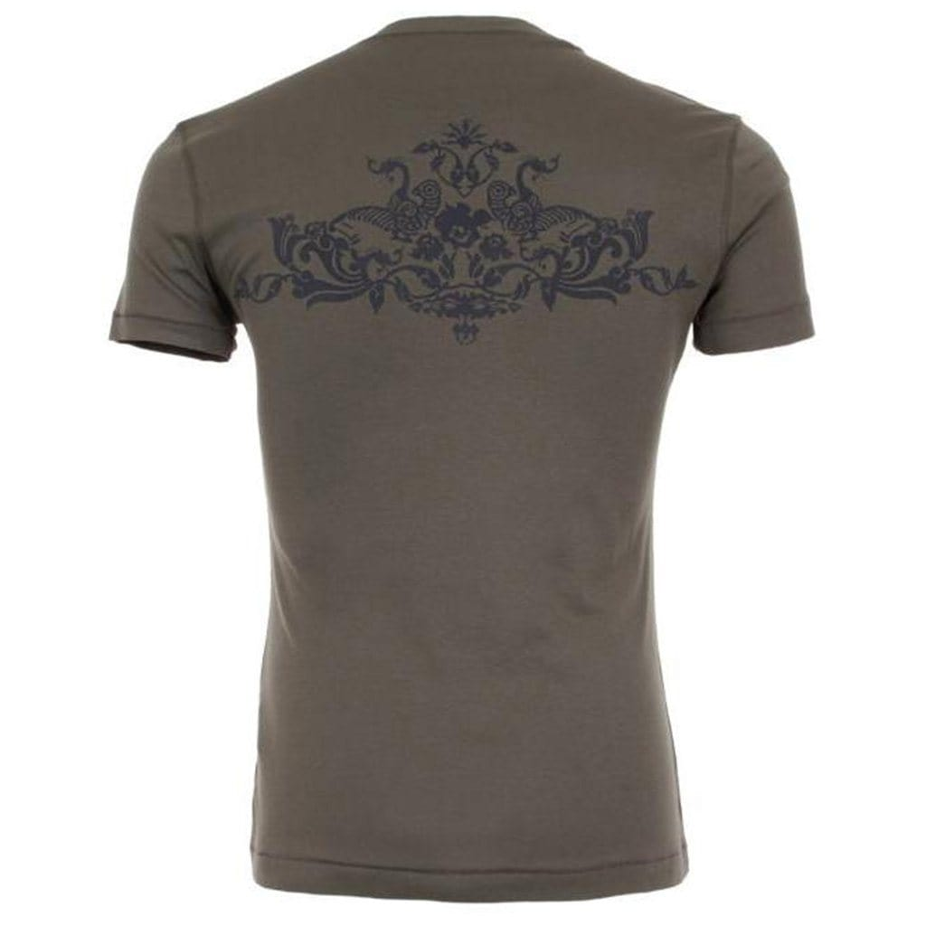 "Yoga-Shirt ""Oliver"", olive - Herrenshirt mit perfekter Passform - Kamah Yoga and Style"