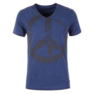 T-Shirt TASSO, blue - Kamah Yoga and Style