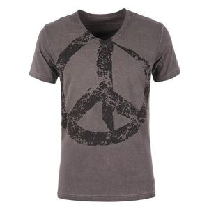 T-Shirt TASSO, dark gull - Kamah Yoga and Style