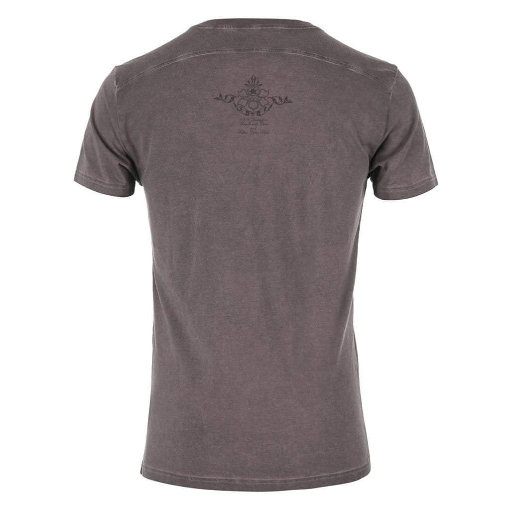 TASSO - T-Shirt, Farbe: dark gull - Kamah Yoga and Style