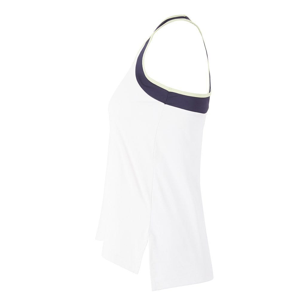 "Yoga-Top ""Sumati"", CB white - Schnelltrocknendes Superactive Tanktop - Kamah Yoga and Style"