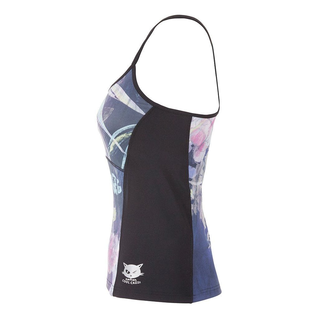 "SVENJA - Active Top, Farbe: Allover-Print ""Shang Li"" - Kamah Yoga and Style"