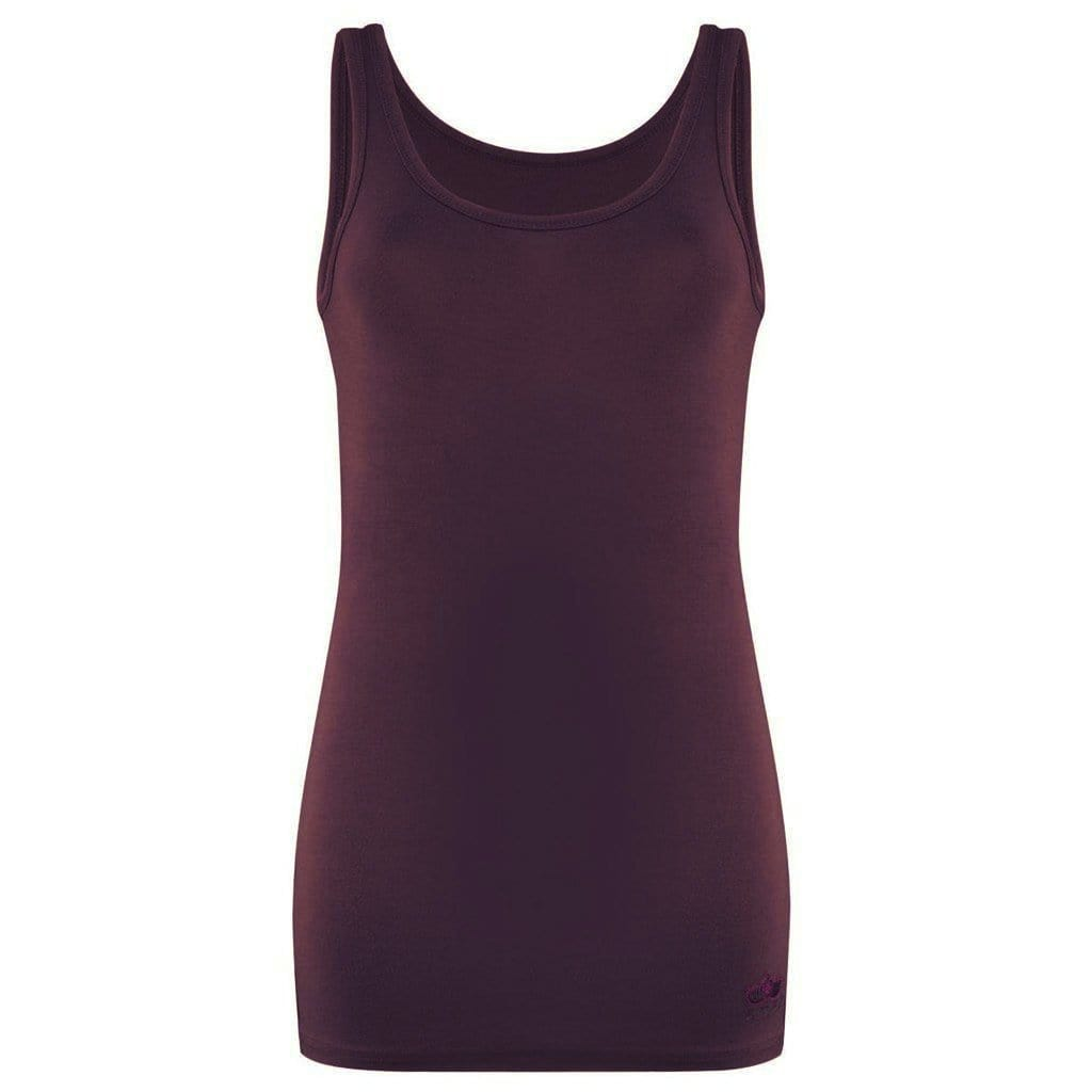 ERIN - Tanktop, Farbe: port royale - Kamah Yoga and Style