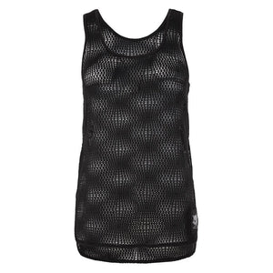 ROMA - Tanktop, Mesh, black - Kamah Yoga and Style