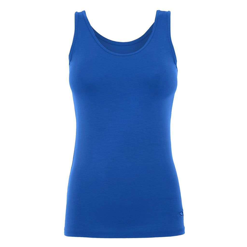 "Yoga-Top ""Erin"", mediterraneo - Supersoftes Basic Tanktop - Kamah Yoga and Style"