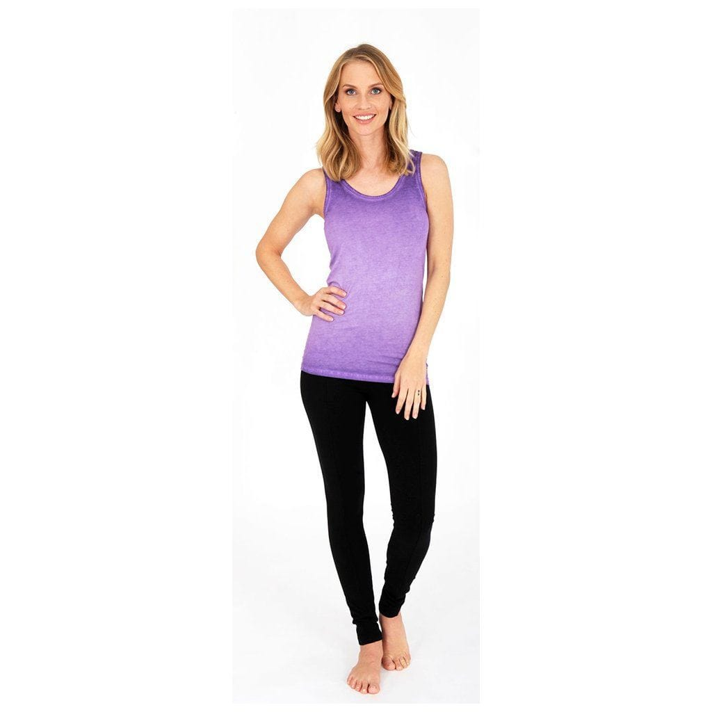 ERIN - Tanktop, Farbe: neon purple - Kamah Yoga and Style