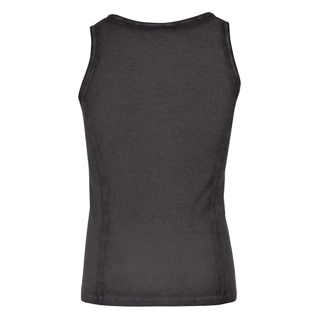 "Yoga-Top ""Scott"", charcoal - Superbequemes Herren Top - Kamah Yoga and Style"