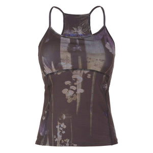 "Yogakleidung - 100% BIO - Yoga-Top ""Prisca"", Everglades - Superactive Top aus recycletem Funktionsmaterial"
