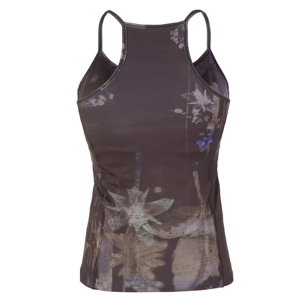 "Yoga-Top ""Prisca"", Everglades - Superactive Top aus recycletem Funktionsmaterial - Kamah Yoga and Style"