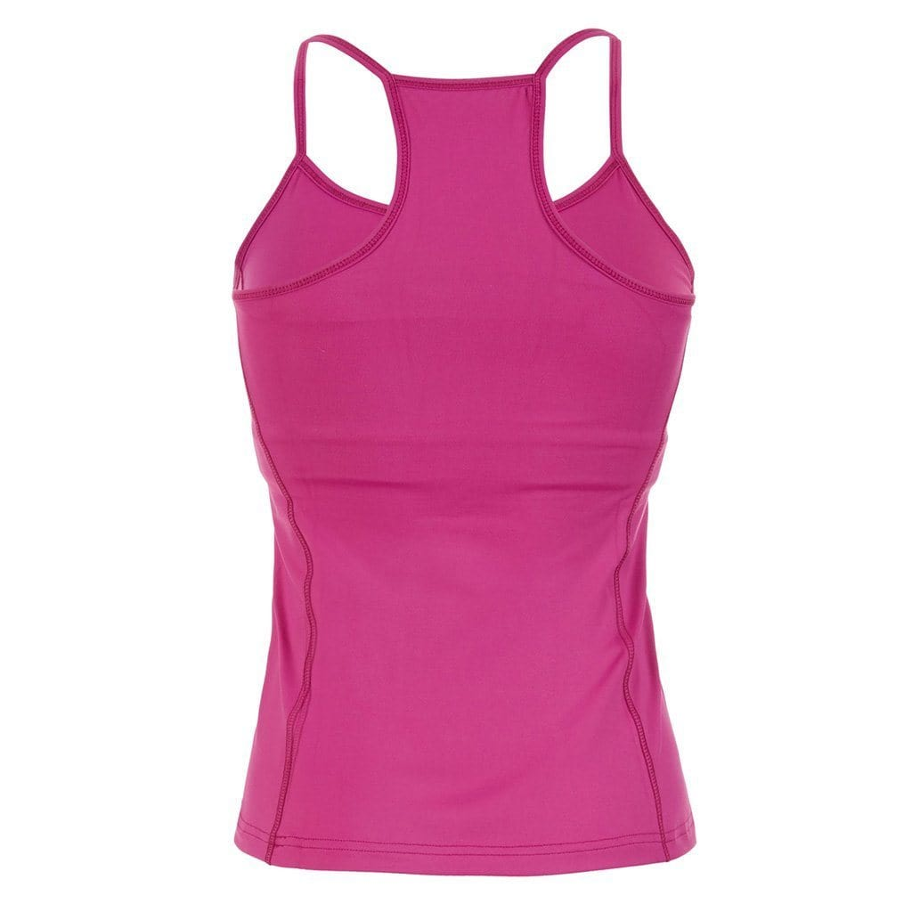 "Yoga-Top ""Prisca"", fuchsia - Superactive Top aus recycletem Funktionsmaterial - Kamah Yoga and Style"
