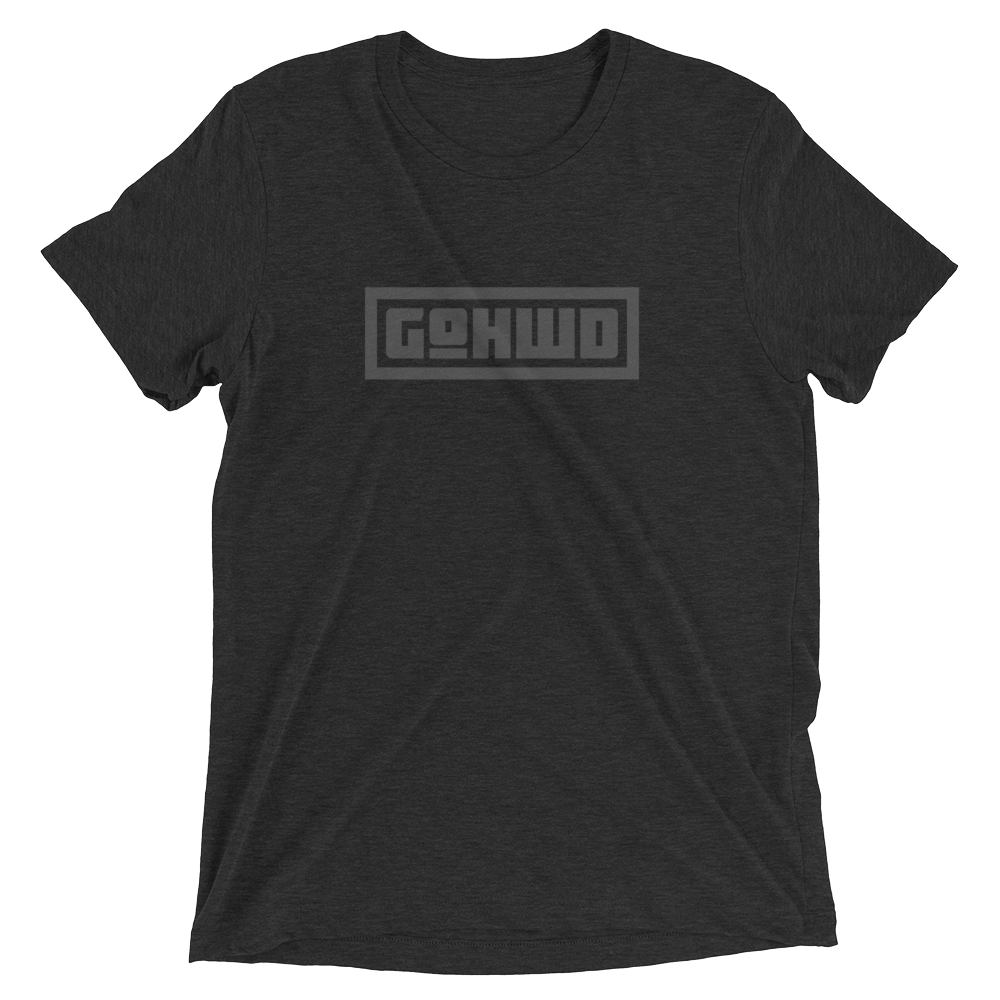 GoHWD Shirt (black series)