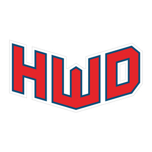 HWD Sticker