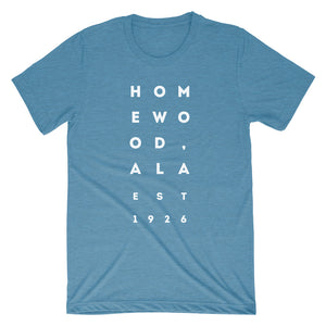 Homewood, Alabama Est. 1926 Shirt