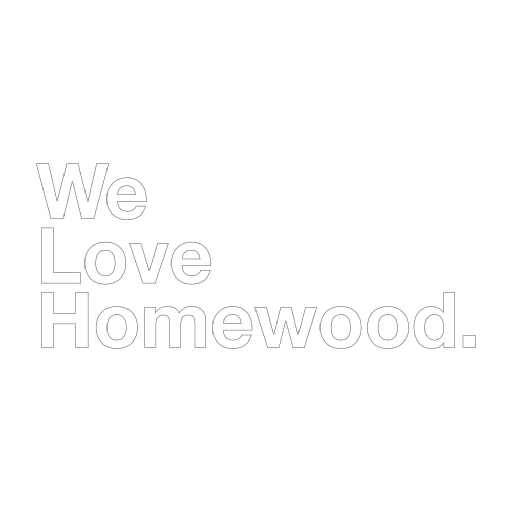 We Love Homewood Sticker