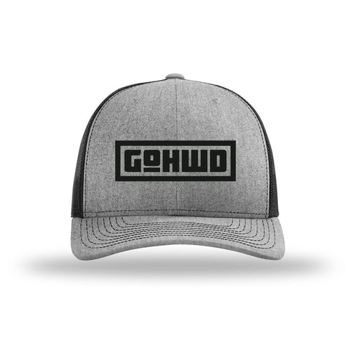 GoHWD Trucker Hat (black series)
