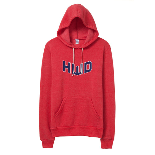 HWD Red Pullover Hoodie