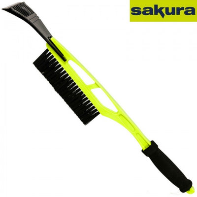 SAKURA Snow Brush with Ice Scraper