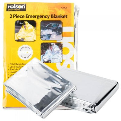 Rolson 2 Piece Emergency Blanket