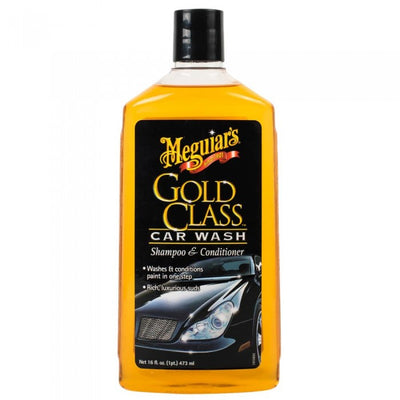 Meguiars Gold Class Car Wash Shampoo & Conditioner 473ml