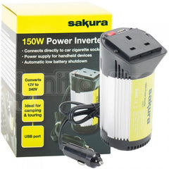 Car 150W Power Inverter