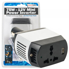 75w - 12v Mini Power Inverter