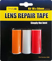 Simply Lens Repair Tape Kit 1M x 50mm