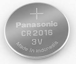 Panasonic 2016 3V Lithium Coin Cell Battery