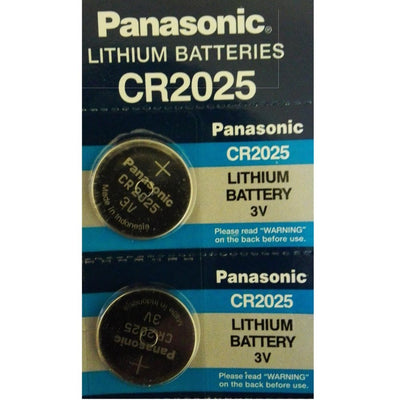 Panasonic CR2025 3V Lithium Coin Cell Battery