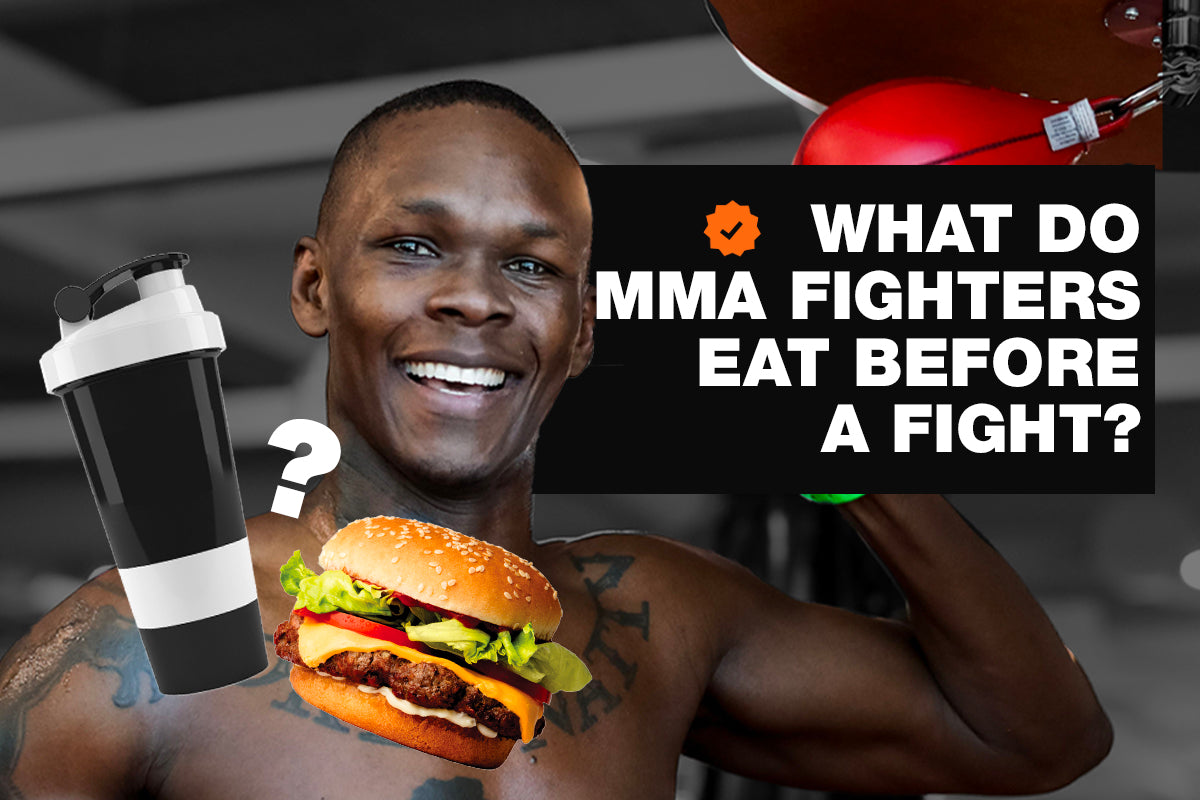 What do MMA fighters eat before a fight?