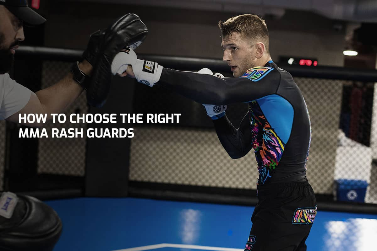 How To Choose The Right MMA Rash Guards