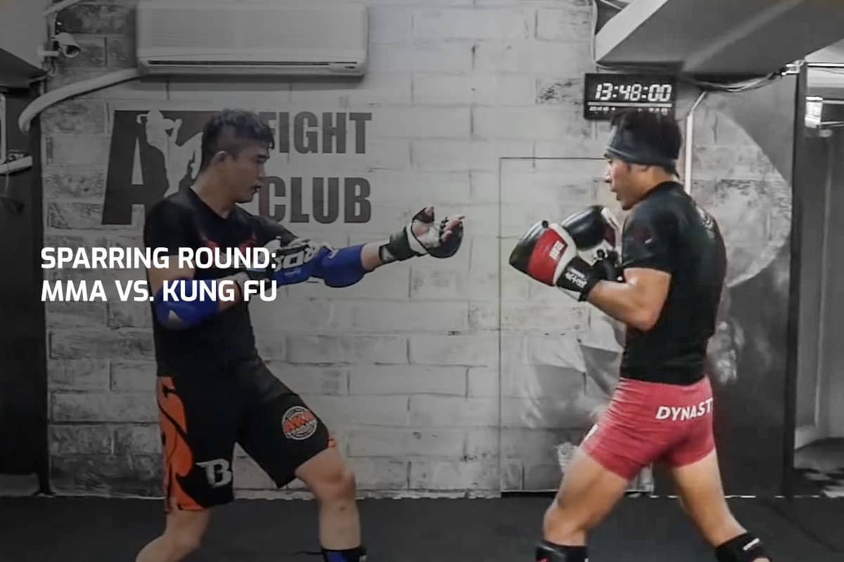 Sparring Round: MMA vs. Kung Fu