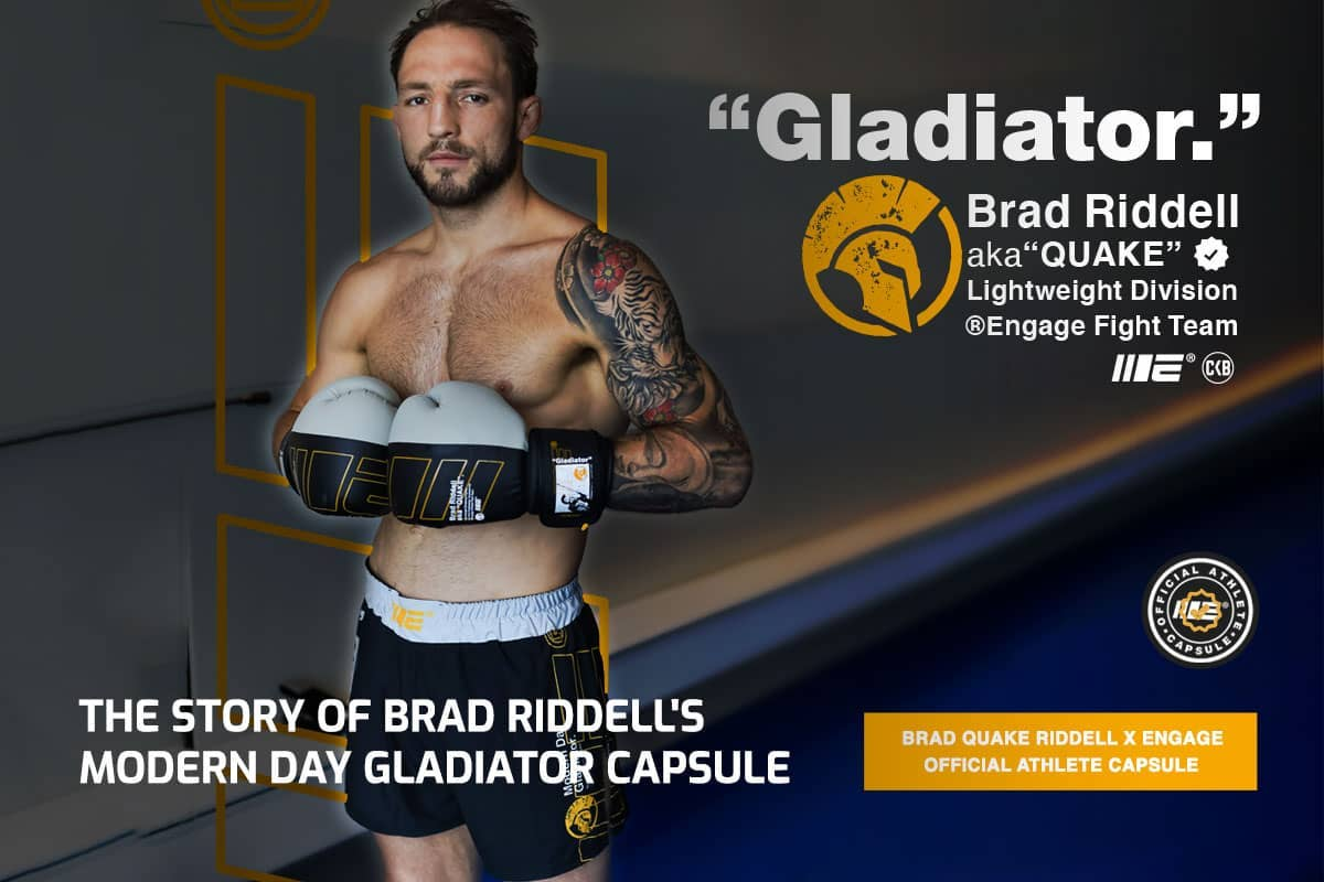 The Story of Brad Riddell's Modern Day Gladiator Capsule