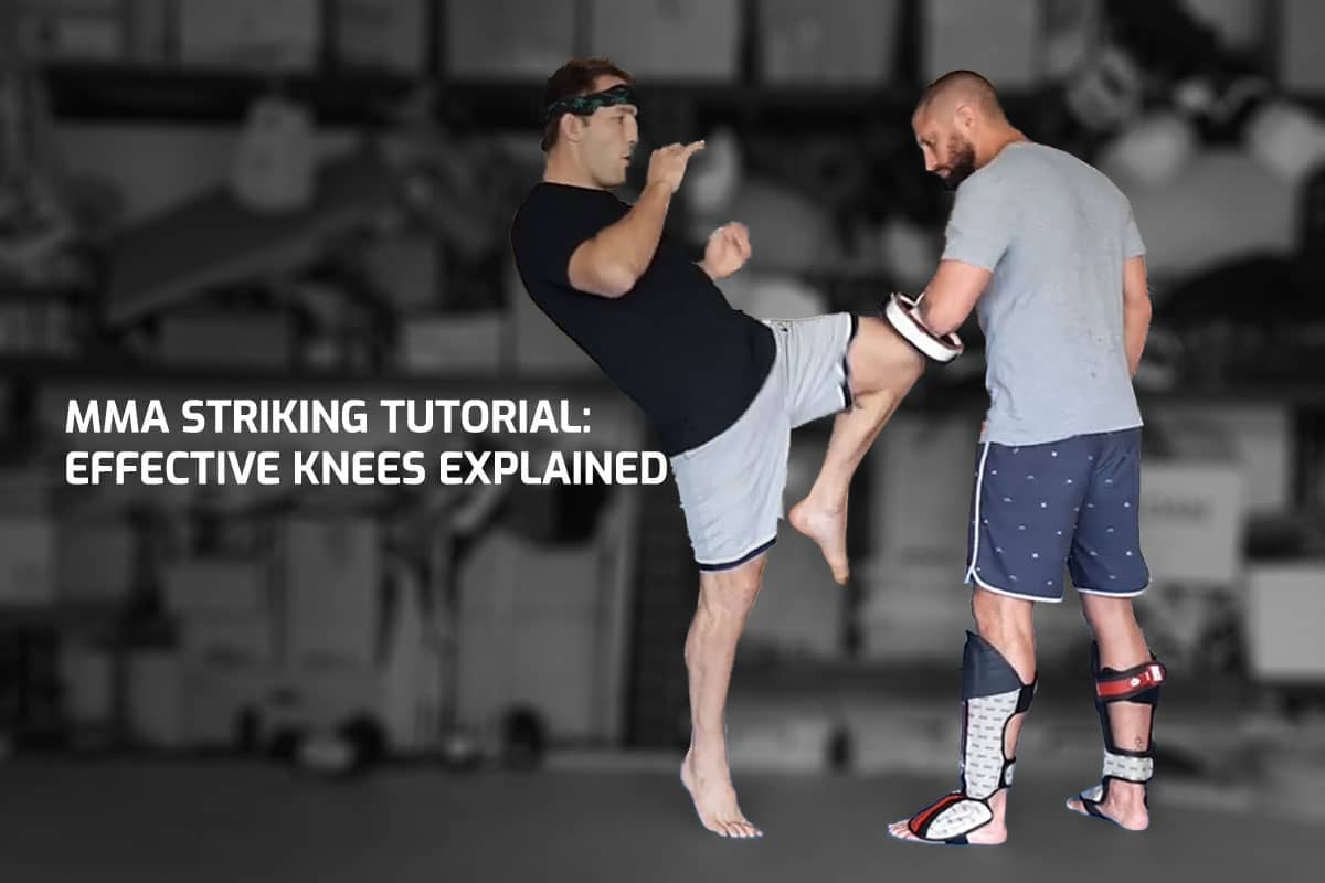 MMA Striking Tutorial: Effective Knees Explained
