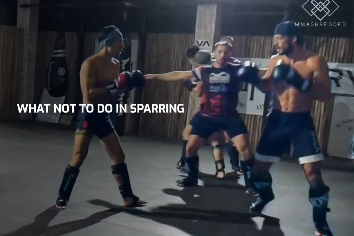 What NOT To Do In Sparring