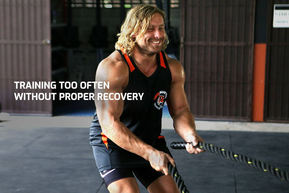 Training Too Often Without Proper Recovery