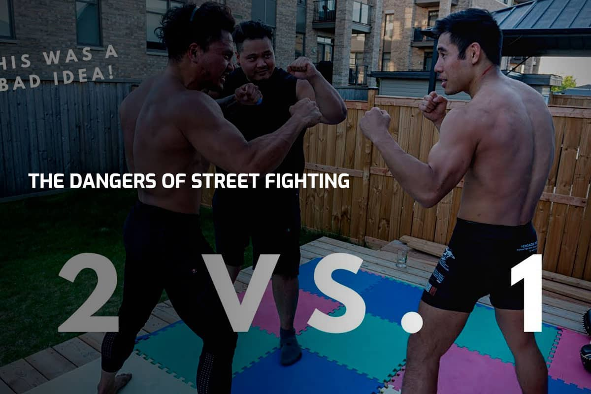 The Dangers of Street Fighting (2 vs 1 sparring)