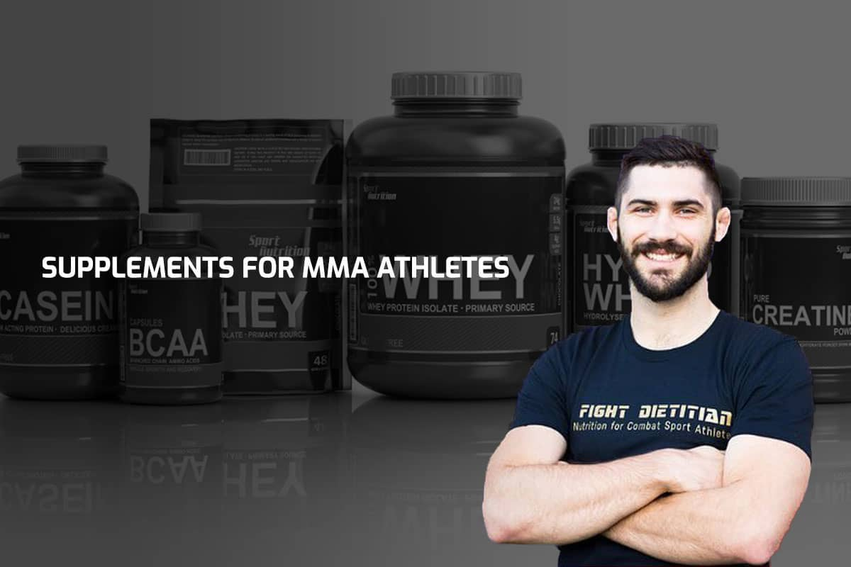 Supplements for MMA Athletes