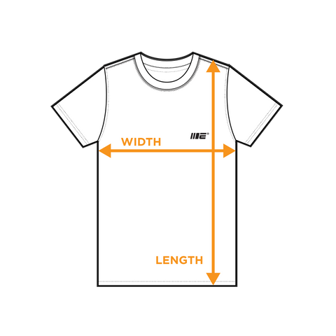 T-shirt - size guide