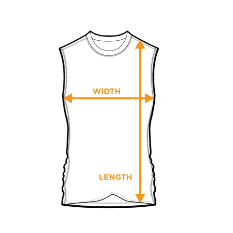 Engage Tank Top - Size Guide