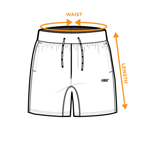 Training Shorts - Size Guide
