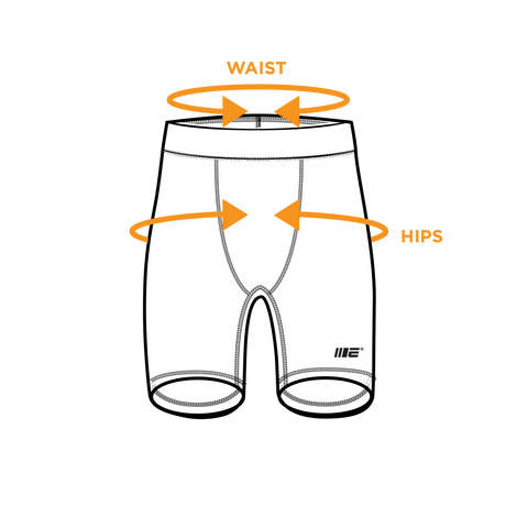 Compression Shorts - Size Guide