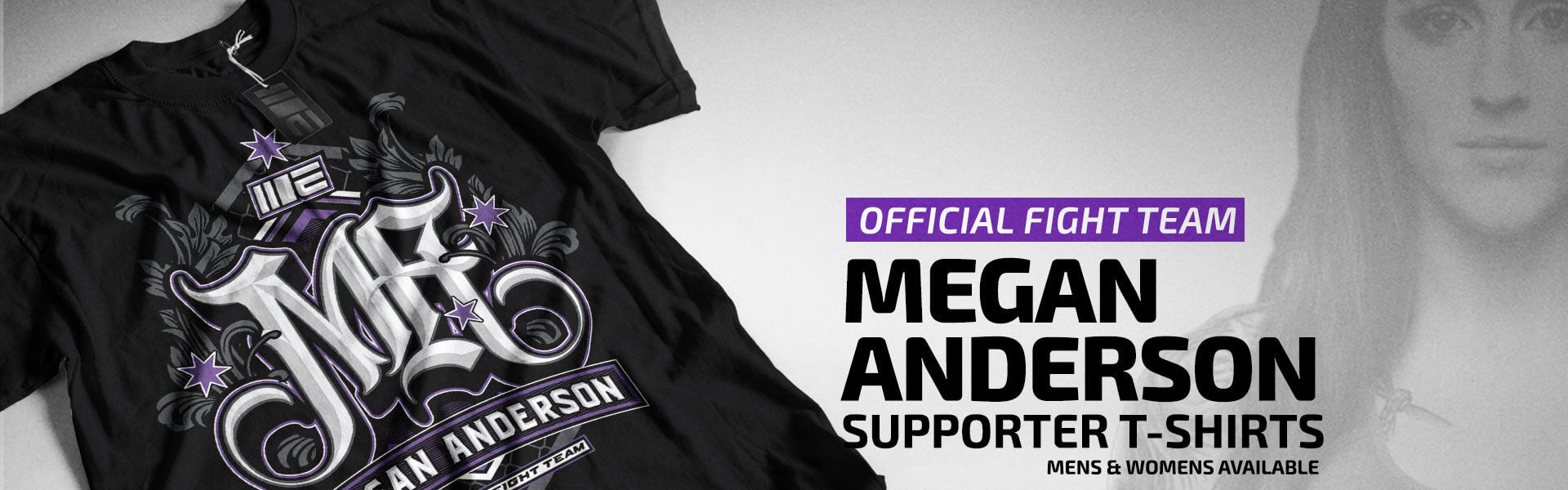 Limited Edition - Megan Anderson Official Supporter T-shirt