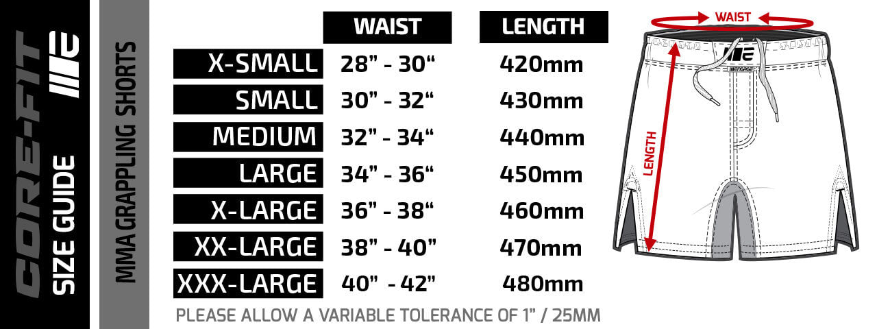 engage-mma-grappling-shorts-sizing-guide