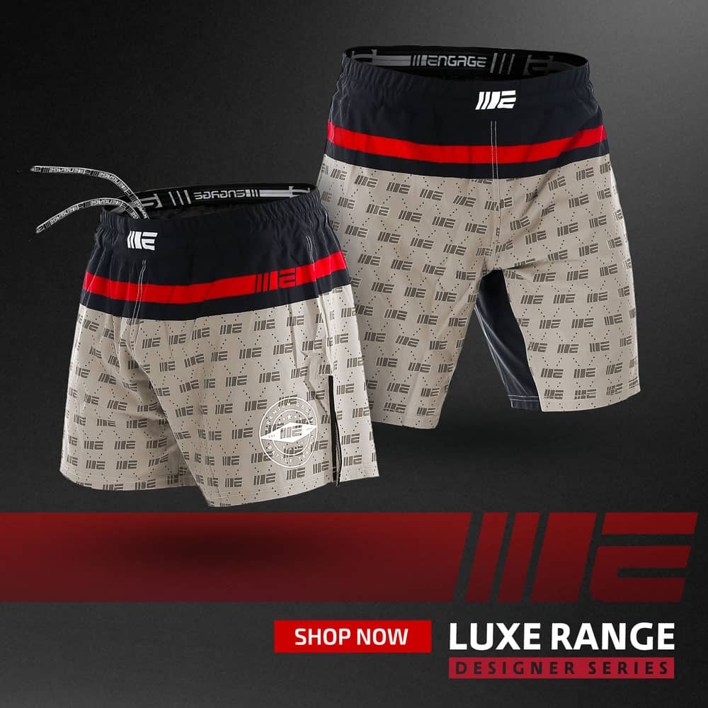 Engage Luxe MMA Shorts Designer Series Fightwear